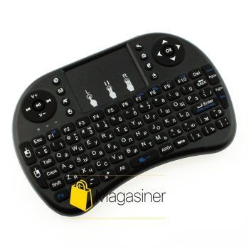 Клавиатура беспроводная Protech Mini Keyboard UKC черная (21-tg)