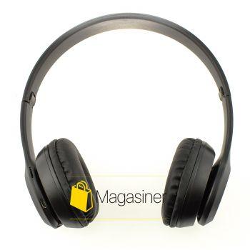 Беспроводные Bluetooth наушники UKC P47 черные (224-tg)
