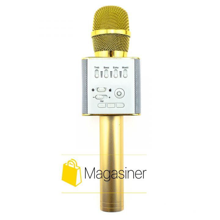 Беспроводной караоке микрофон MagicMusic Q9 Original Gold (311-tg)