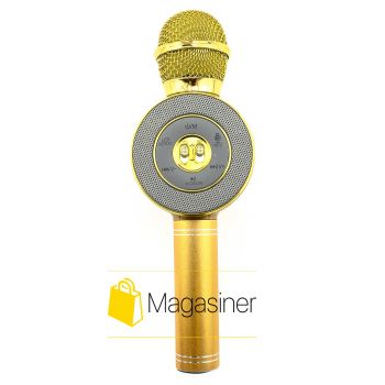 Беспроводной караоке микрофон WSTER WS 668 Original Gold (313-tg)