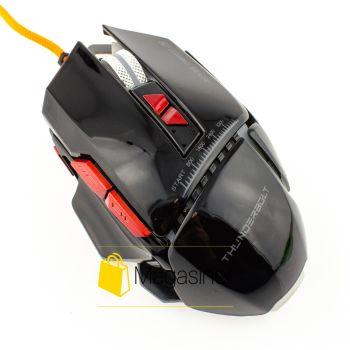 Мышь проводная AQUIPMENT MASTER 8D IMICE 2400 DPI Gaming  черная (326-tg)