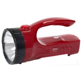 Фонарь ручной аккумуляторный Yajia YJ-2833 прожекторный cветодиодный кемпинговый светильник
