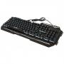 Игровая клавиатура с подсветкой Weibo Game Keyboard WB-539 проводная геймерская keyboard для ПК Черная