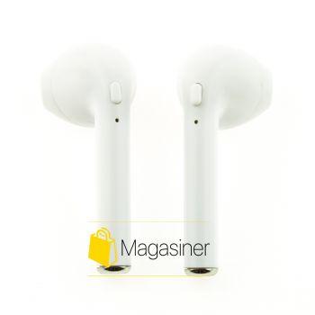 Беспроводные Bluetooth наушники HBQ i7s Mini TWS белые (349-tg)