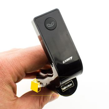 Автомобильный FM трансмиттер модулятор Car G7 FM Etercycle черный (39-tg)