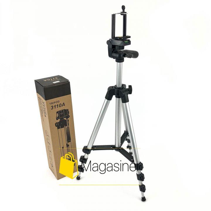 Компактный штатив трипод   Tripod 3110 тренога для экшн камер, смартфонов, телефонов и видеокамер (460-tg)