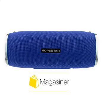 Оригинальная портативная Bluetooth колонка Sound System A6 Hopestar синяя (490-tg)