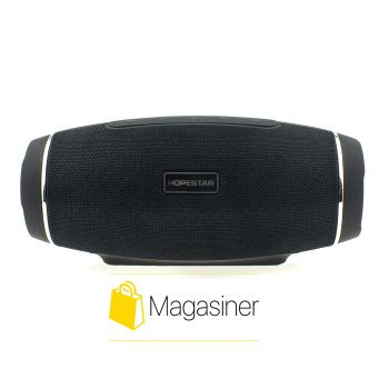 Оригинальная портативная Bluetooth колонка H27 Hopestar черная (494-tg)