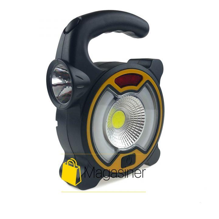 Переносной туристический фонарь COB Work Light MH-318a для туризма, кемпинга, походов и рыбалки (497)