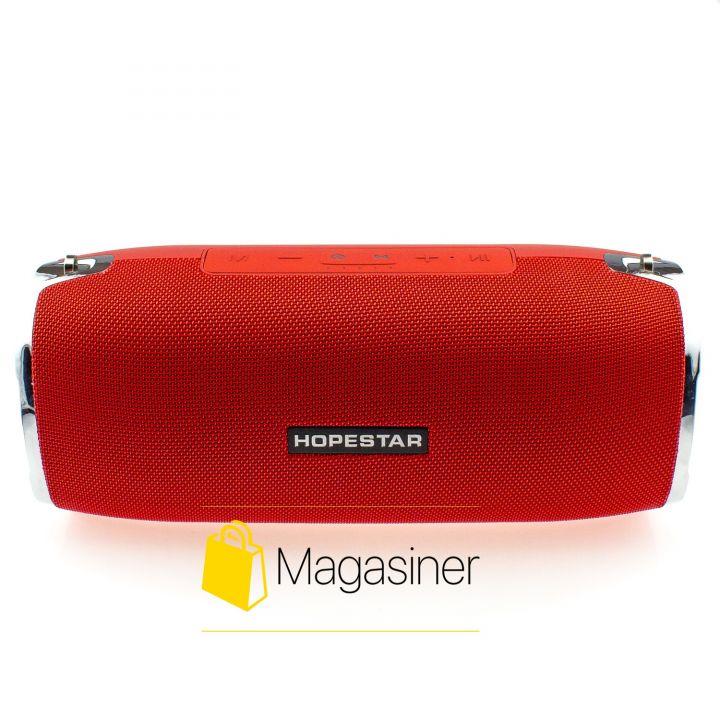 Оригинальная портативная Bluetooth колонка Sound System A6 Hopestar красная (511-tg)