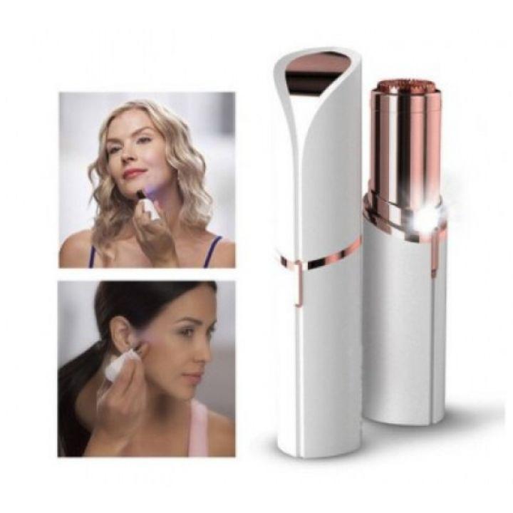 Женский эпилятор для лица Flawless Facial Hair Remover триммер для удаления волос в виде помады
