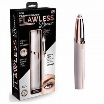 Женский тример для придания формы бровей Flawless Brows розовый эпилятор + депилятор для лица