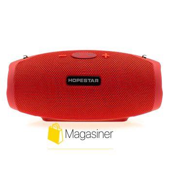 Оригинальная портативная Bluetooth колонка H26 Mini Hopestar красная (528-tg)