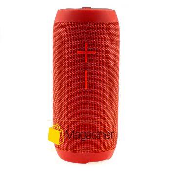 Оригинальная портативная Bluetooth колонка P7 Hopestar красная (530-tg)