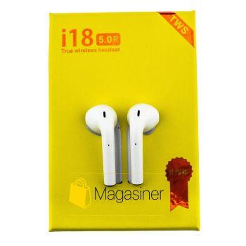 Беспроводные Bluetooth наушники i18 tws 5.0 (536-tg)