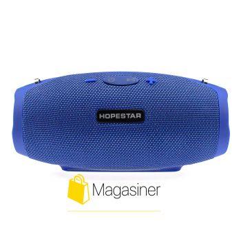 Оригинальная портативная Bluetooth колонка H26 Mini Hopestar синяя (539-tg)