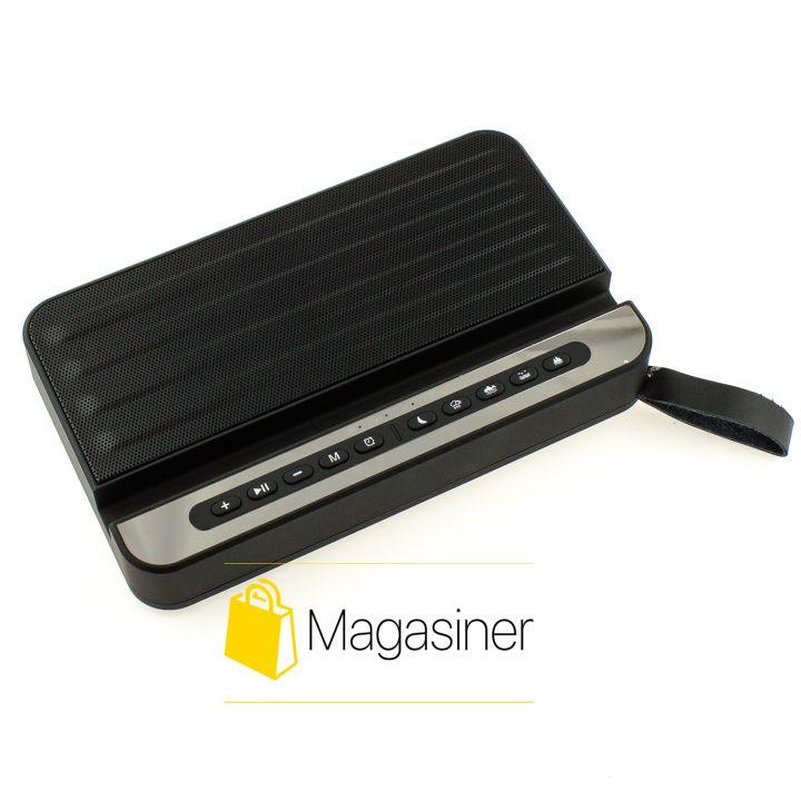 Беспроводная портативная Bluetooth Колонка V2 с FM черная (55-tg)