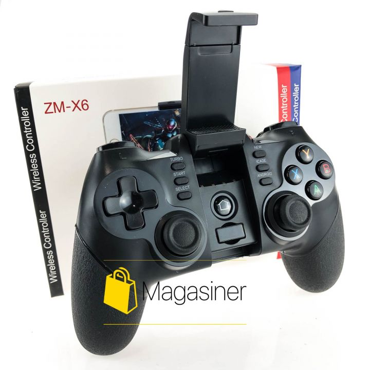 Джойстик ZM-X6 беспроводной геймпад bluetooth для ios,Android, PC,Телефона (586-tg)
