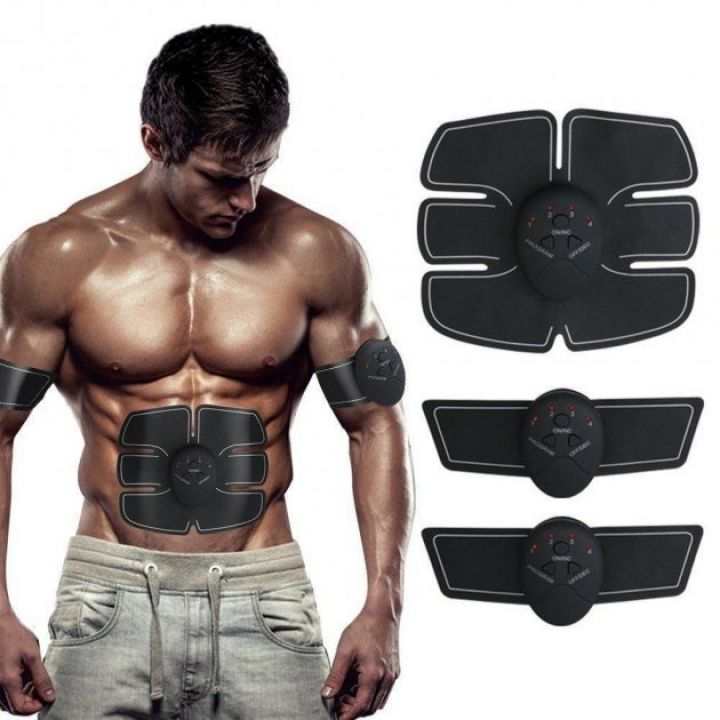 Миостимулятор массажер Smart Fitness Ems Trainer Fit Boot Toning 3в1 бабочка для похудения, мышц пресса и рук