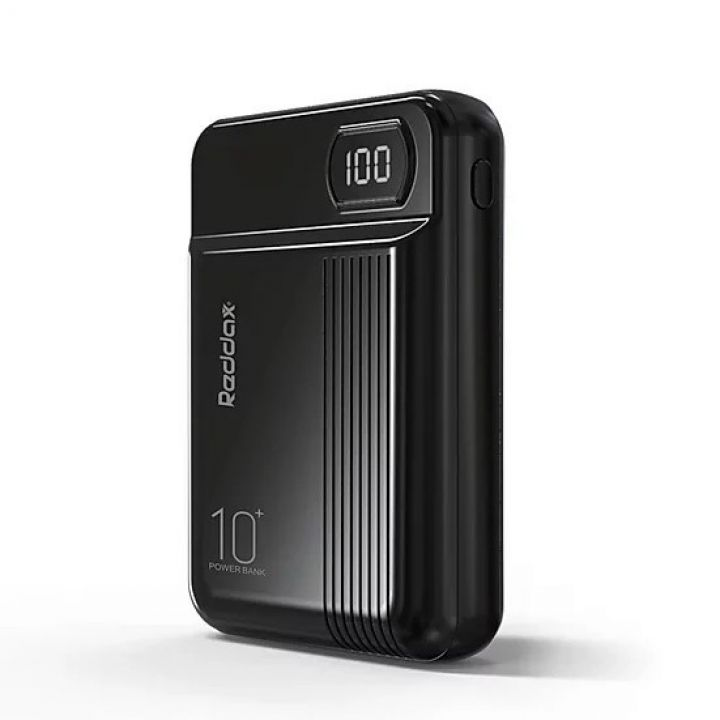 Портативный Power Bank Reddax RDX-250 10000 mAh Led Display внешний аккумулятор павербанк