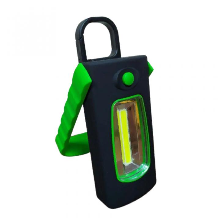 Туристический фонарь с карабином cветодиодный кемпинговый светильник с магнитом переносной