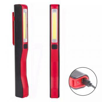 Туристический фонарь с поворотной клипсой cветодиодный кемпинговый светильник с магнитом ручной