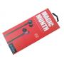Наушники вакуумные проводные Celebrat D2 Magic Month Black-Red с гарнитурой