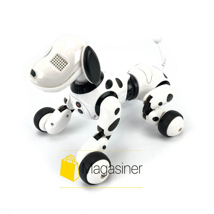 Собака робот Robot Dog 9007A на радиоуправлении с аккумулятором интерактивная игрушка для детей
