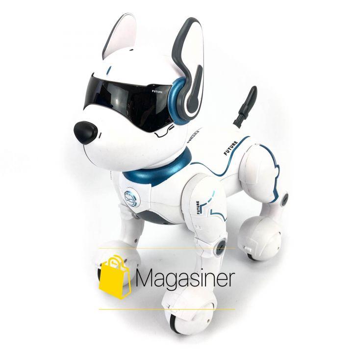 Собака робот Robot Dog A001 Leidy Dog с голосовым управлением на радиоуправлении игрушка для детей (634)