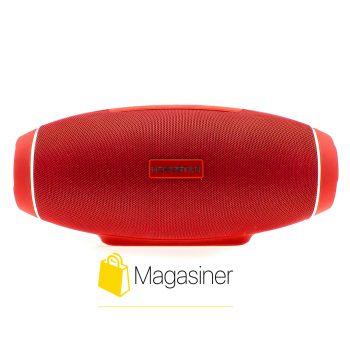 Оригинальная портативная Bluetooth колонка H20 Hopestar Сабвуфер красная (648-tg)