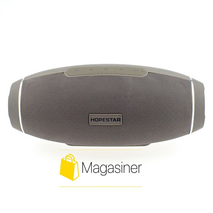Оригинальная портативная Bluetooth колонка H20 Hopestar Сабвуфер серая (649-tg)