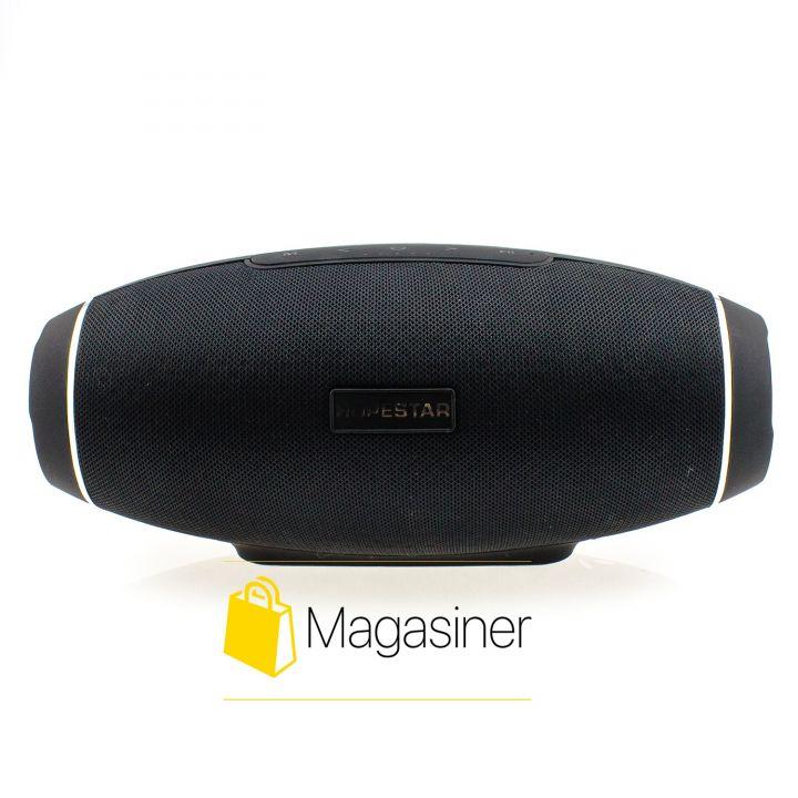 Оригинальная портативная Bluetooth колонка H20 Hopestar Сабвуфер черная (658-tg)