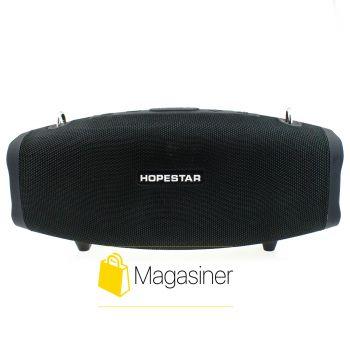 Оригинальная портативная Bluetooth колонка Hopestar X с микрофоном черная (678-tg)