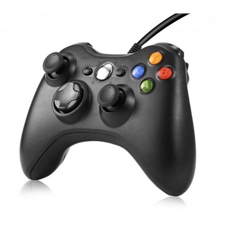Проводной игровой геймпад джойстик для приставки Xbox 360 Controller ODI черный