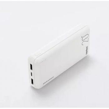 Портативный Power Bank Sertec ST-2066 20000 mAh внешний аккумулятор павербанк белый
