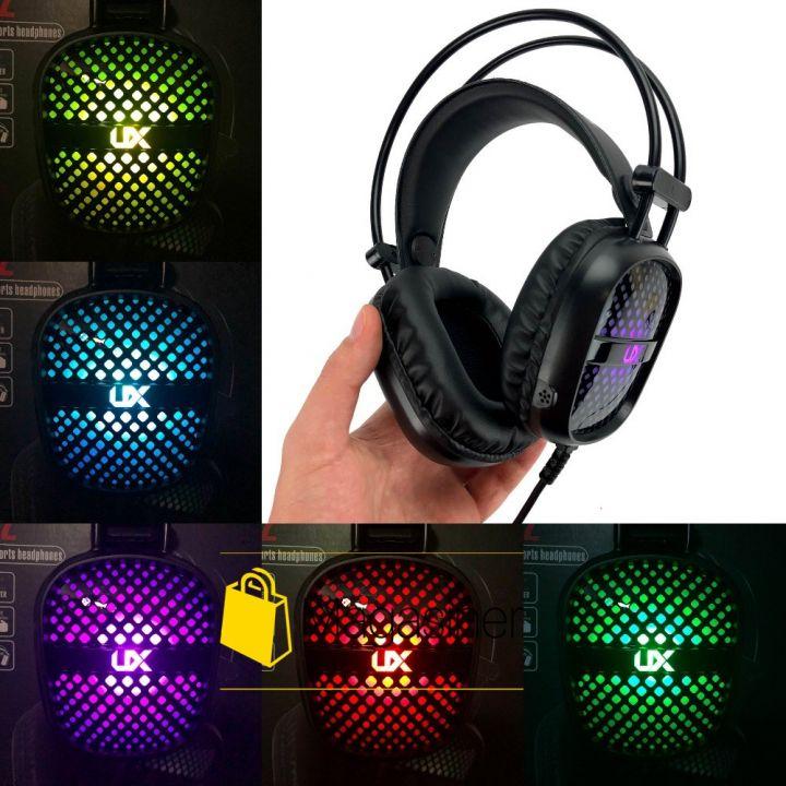 Игровые наушники The Engineer A2 с микрофоном и подсветкой геймерские для компьютера и ноутбука (758)
