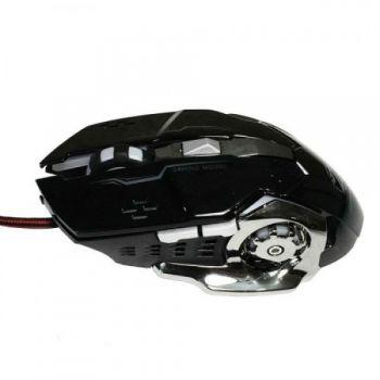Игровая проводная мышка Zornwee Z32 RGB 2400 dpi мышь компьютерная геймерская LED подсветка черная