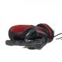 Игровые проводные наушники G-Listen G1 с микрофоном геймерские для компьютера и ноутбука красные