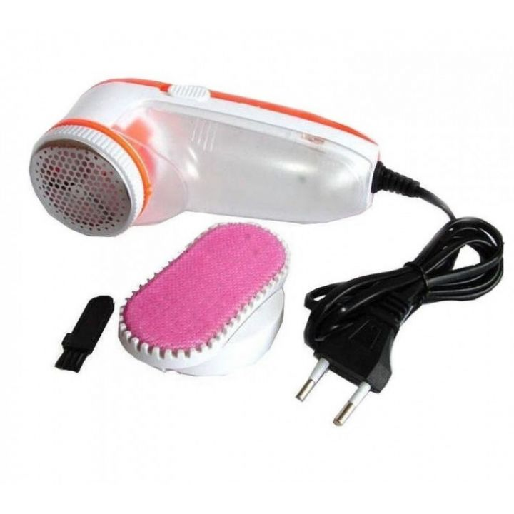 Электрическая  машинка для удаления катышков с одежды GEMEI GM-230 с резервуаром для катышков и насадкой щёткой для снятия шерсти животных  Безопасная бритва для очистки любых тканевых поверхностей