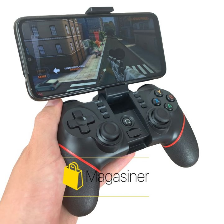 Беспроводной геймпад для телефона Terios T6 джойстик для пубг пабг мобайл pubg mobile смартфона (858)