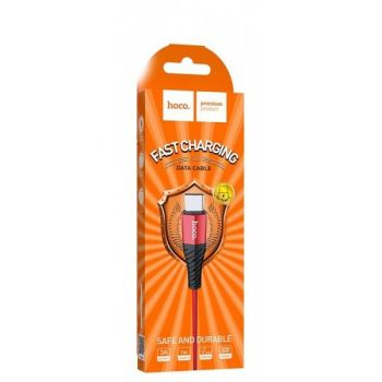 USB кабель для зарядки смартфона Hoco X38 Cool Fast Charging Cable Type-C 100 1 м белый