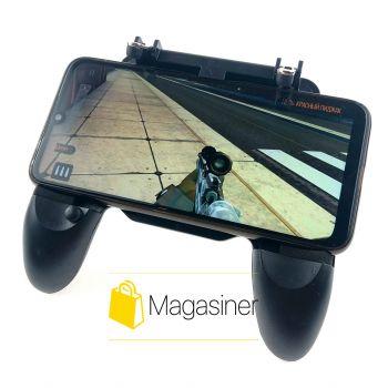 Игровой геймпад для телефона с триггерами для смартфона Mobile Game Controller W10 пубг мобайл пабг pubg mobile (889)