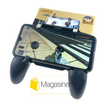 Игровой геймпад для телефона с триггерами для смартфона Mobile Game Controller W11 пубг мобайл пабг pubg mobile (890)
