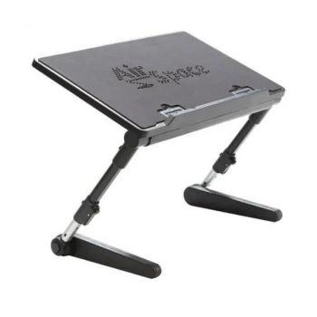 Охлаждающая регулируемая подставка для ноутбука AirSpace с кулером охлаждения столик с подставкой под мышку