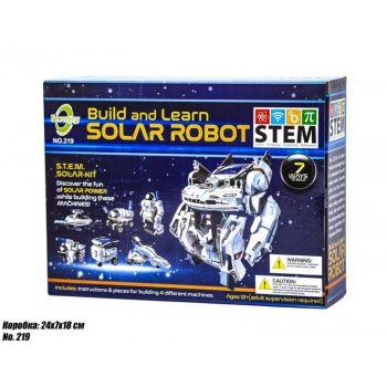 Конструктор Newenergy на солнечных батареях Solar Robot Робот Космопарк 7 в 1