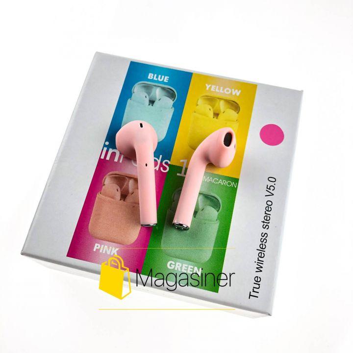 Беспроводные наушники Inpods 12 TWS Bluetooth pink (912)