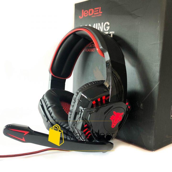 Игровые наушники JEDEL 9905 Gaming Headset с микрофоном и RGB подсветкой геймерские для компьютера и ноутбука (935)
