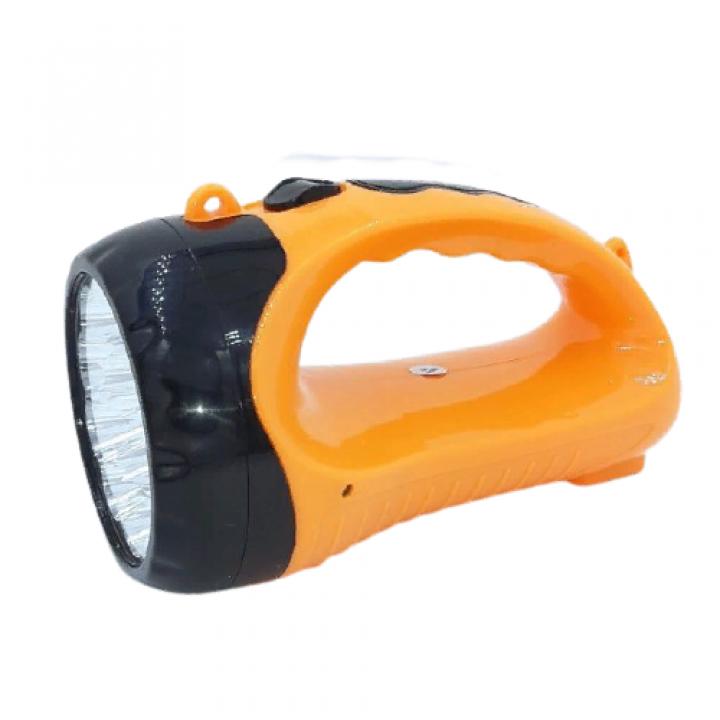 Фонарь ручной аккумуляторный Luxury YJ-2817 прожекторный cветодиодный кемпинговый светильник