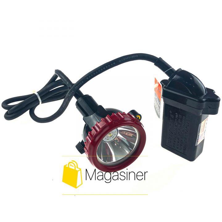 Профессиональный шахтерский фонарь Shanxing SX-0018 6000mAh коногонка (949)