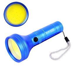 Ручной светодиодный фонарь прожектор Police BL-C733-COB переносной фонарик для кемпинга